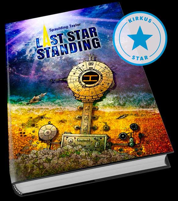 Last Star Standing cover, Kirkus award.