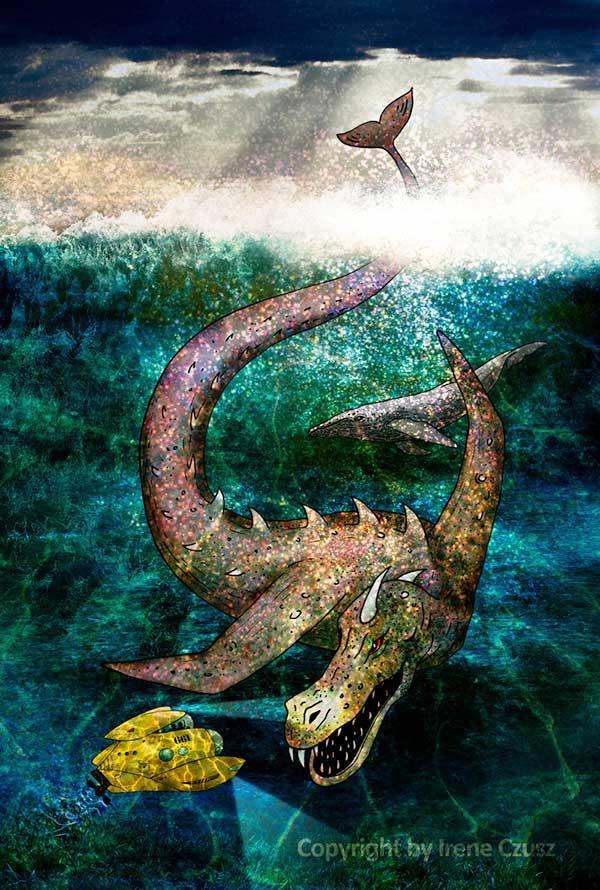Last Star Standing Sea Monster art.